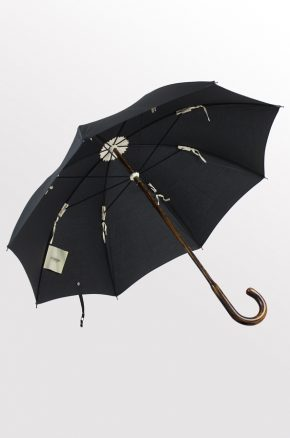 Black cotton on Oak. Lockwood umbrella. 2016. 1.2